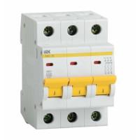 Выключатель автоматический трехполюсный 63А C ВА47-29 4.5кА