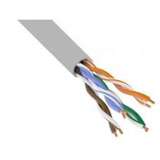 Витая пара UTP 4 пары AWG 24 Cat.5e внутренняя CCA Net.on 305м (UTP 4x2x0,5 In/CCA)