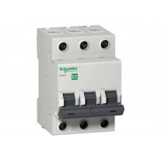 Выключатель автоматический трехполюсный 10A C 4.5кА EASY 9