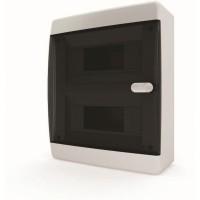 Щит распределительный навесной ЩРн-П-18 IP41 прозрачная черная дверца