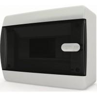 Щит распределительный навесной ЩРн-П-12 IP41 прозрачная черная дверца
