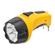 Фонарь светодиодный NPT-CP03-ACCU 4LED аккумуляторный с вилкой для зарядки