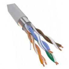 Витая пара FTP 4 пары AWG 24 Cat.5e внутренняя CCA (FTP 4x2x0,5 In/CCA)