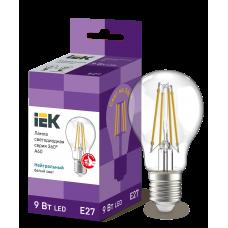 Лампа светодиодная LED 9вт Е27 белый FILAMENT