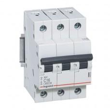 Выключатель автоматический трехполюсный RX3 4,5кА C 25А