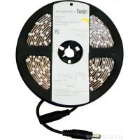 Лента светодиодная LEDх60/м 5м 4.8w/m 12в синий