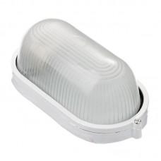 Светильник НПП-60w термостойкий овальный без решетки IP54 белый