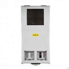 Щит уличной установки КДЕ-3 с дин-рейкой IP54